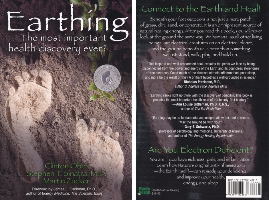 "EARTHING HEAVEN Grounding Products - The Book ""Earthing. The most important health discovery ever?"""