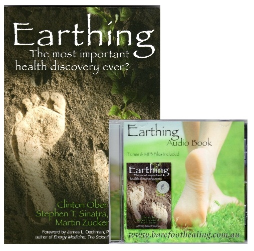 EARTHING HEAVEN Grounding Products - The Earthing Book and CD Pack.