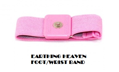 EARTHING HEAVEN Products Foot Wrist Band for Earthing inside.