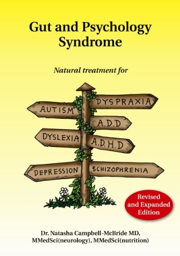 Gut and Psychology Syndrome (GAPS) Book by Dr Natasha Campbell McBride