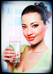Acupuncture success requires hydration for Qi to move fluidly.