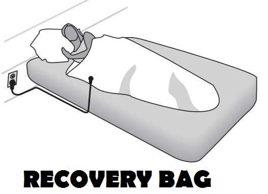 EARTHING Products Recovery Bag for Sports Rejuvenation and Travelling