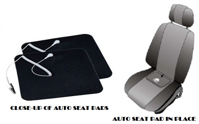 EARTHING HEAVEN Products Auto Seat Pad for Earthing in cars and vehicles.