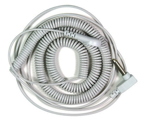 EARTHING HEAVEN Grounding Products - Coiled Cord to connect to Earthing Products.