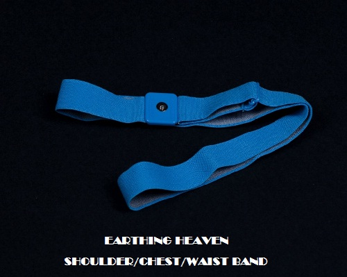 EARTHING HEAVEN Products Shoulder Chest Waist Band for Earthing.