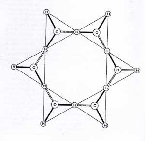 Water - Hexagonal Shape