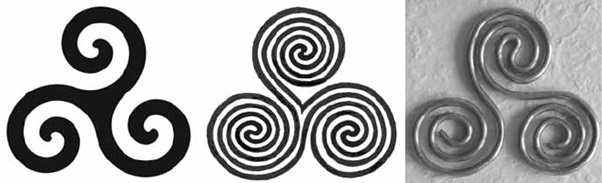 "Water and the Triskelion or ""Spiral of Life"" related to the San Jiao aka Triple Heater"