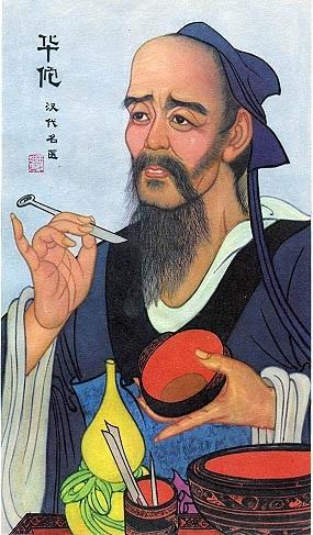 TCM physician Hua Tuo aka Hua T'o confirms San Jiao aka Triple Burner requires grounding